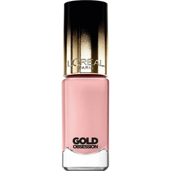 Pink Gold Nail Polish Color Rich Gold Obsession L Oreal