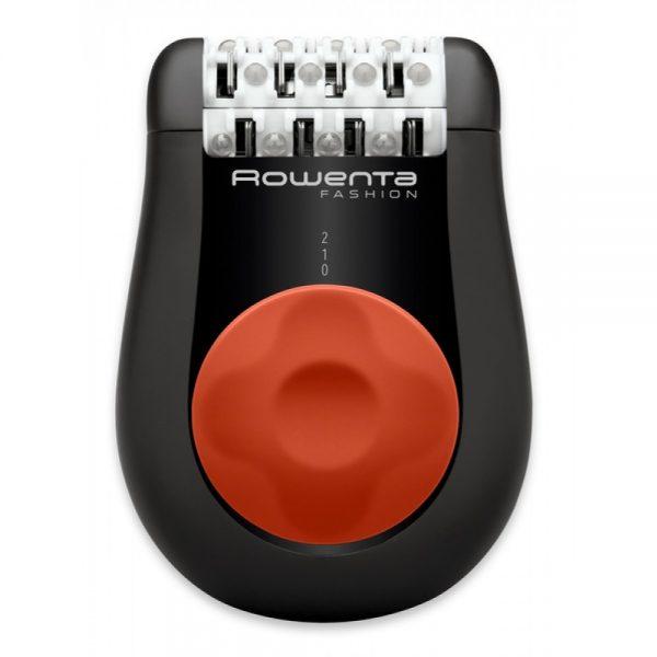 Rowenta Ep1038f0 Depiladora Negro Rojo 24 Pinzas
