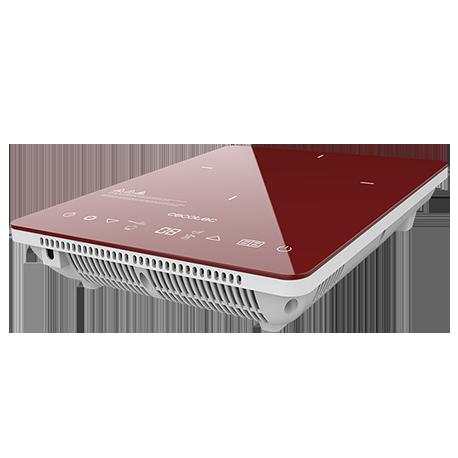Placa de inducción Full Crystal Scarlet Granate