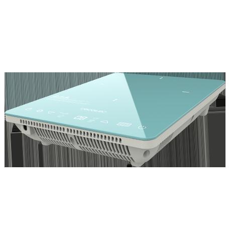 Placa de inducción Full Crystal Sky Azul